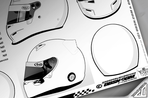 Layout_Zeichnen_Arai_Bell_Peltor_Shoei_Download_Skizze_Template_Helmet_Design