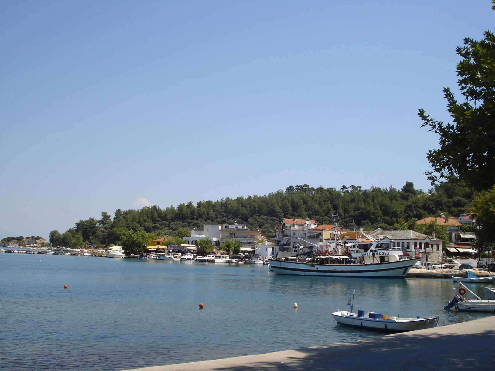 Vieux port de Thassos
