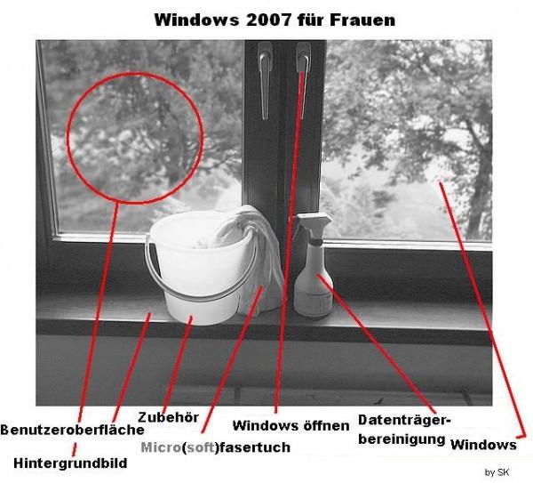 Windows 7 für Frauen