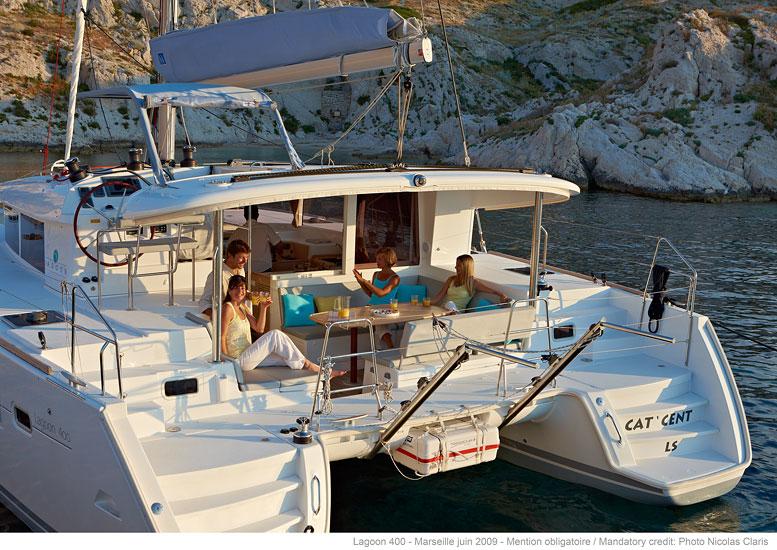 Segelferien Ionische Inseln Katamaran