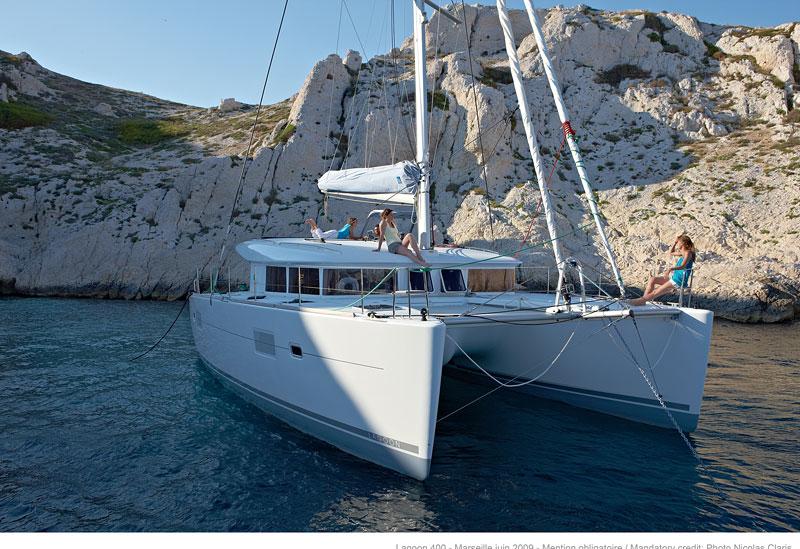 Urlaubstörn Peloponnes Catamaran