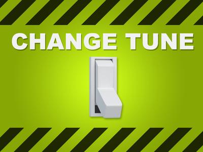 """Schalter """"Change Tune"""""""