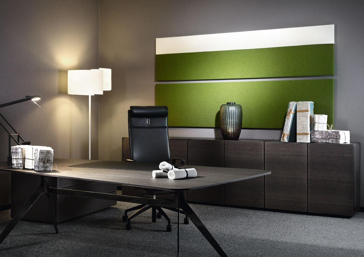 Planung und Umsetzung von hochwertigem Arbeitsumfeld, Chefbüro bis Großraumbüro in Ihrer Corporate Identity