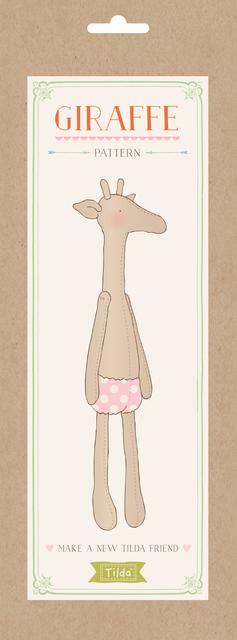Tilda Schnittmuster, Giraffe - Rosamine Home Schweiz / Online Shop ...