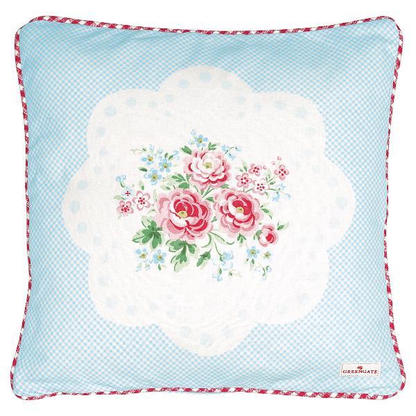 greengate kissen tess mit blumen 40x40 rosamine home schweiz online shop stoff shop. Black Bedroom Furniture Sets. Home Design Ideas