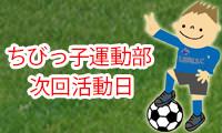 9月8日・22日(日)    津田南小学校 10:40~