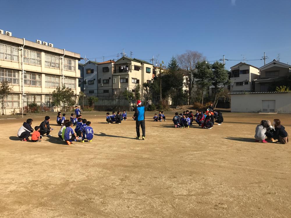 サッカー体験 1