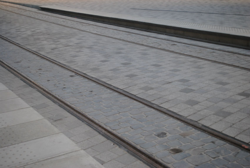 Afwerking van bestratingen te Antwerpen