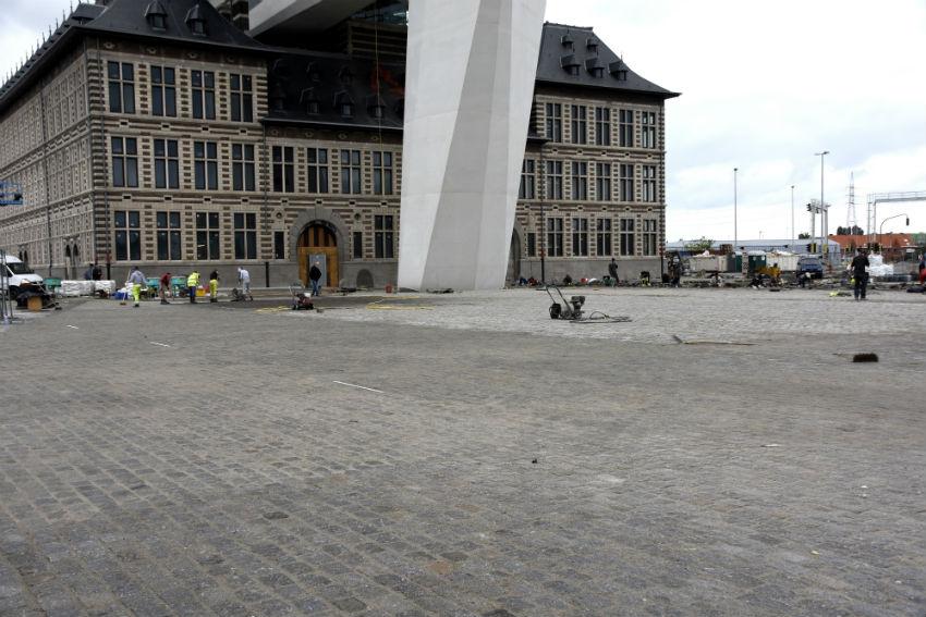 Groot bestratingsproject Antwerpen
