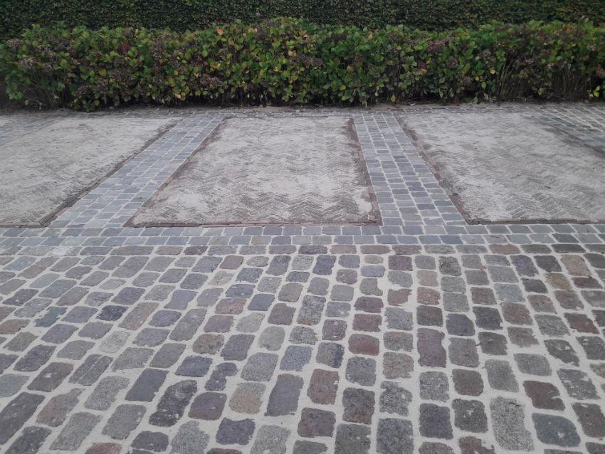 Aanleg van parking te Wachtebeke