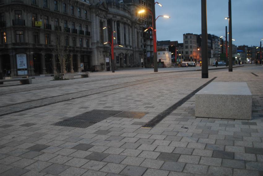 Groot bestratingsproject te Antwerpen
