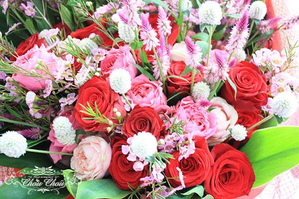 プロポーズ 豪華な花束 order no 180909