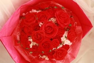 プロポーズの花束 バラ プリザーブドフラワー ディズニープロポーズ 花屋