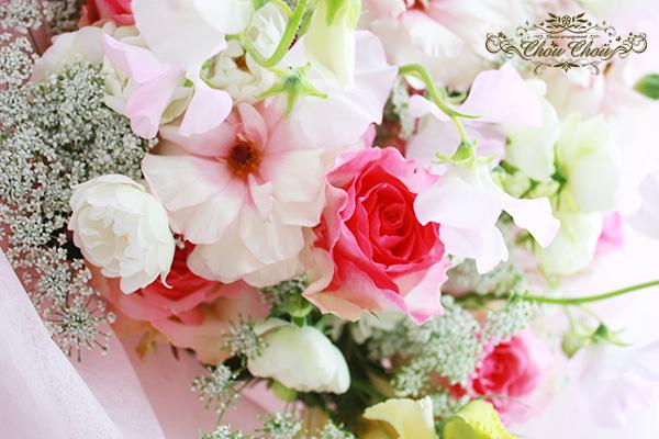 卒業 花束 オーダーフラワー  シュシュ chouchou 配送 春の花 舞浜花屋
