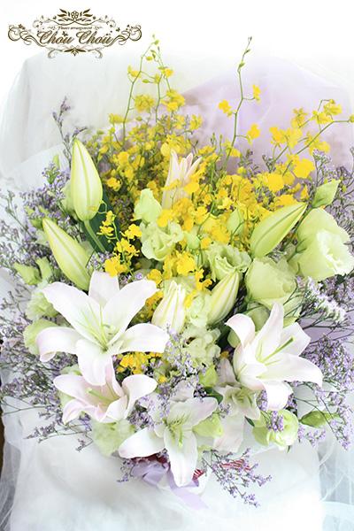 父の日の花束 仏花