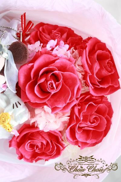 ディズニー プロポーズ 花束 ウェディング ミッキー ミニー 薔薇 販売 ミラコスタ プリザーブドフラワー