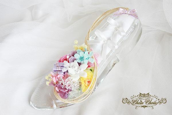 プロポーズのガラスの靴アレンジ ラプンツェル order no 201745