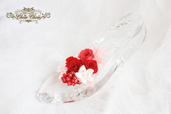 プロポーズ ガラス靴アレンジ order no 180807