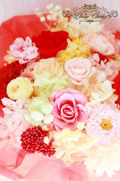 プロポーズ 花束 薔薇 プリザーブドフラワー リングホルダー フラワーリング オーダーフラワー 花屋 舞浜