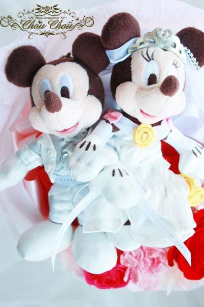ディズニー プロポーズ セレブレーションホテル プリザーブドフラワー 花束 配達無料 オーダーフラワー シュシュ 浦安 舞浜 花屋