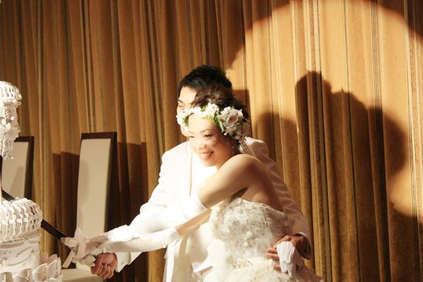 ヘッドドレス 花冠 ウェディング プリザーブドフラワー アレンジ 付け方 カスミ草 髪飾り ヘアアクセサリー