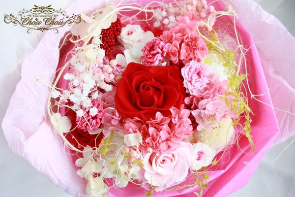 ディズニー ミラコスタ 花束 プレゼント 薔薇 プリザーブドフラワー 注文 オーダー
