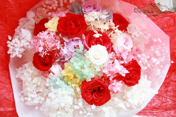 プロポーズ 花束 プリザーブドフラワー ディズニーランドホテル