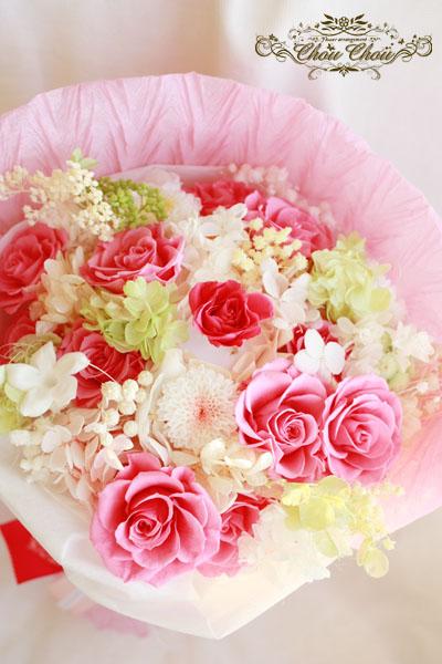 プロポーズ 花束 コンラッド東京 プリザーブドフラワー プロポーズリング リングケース 花屋 ChouChou