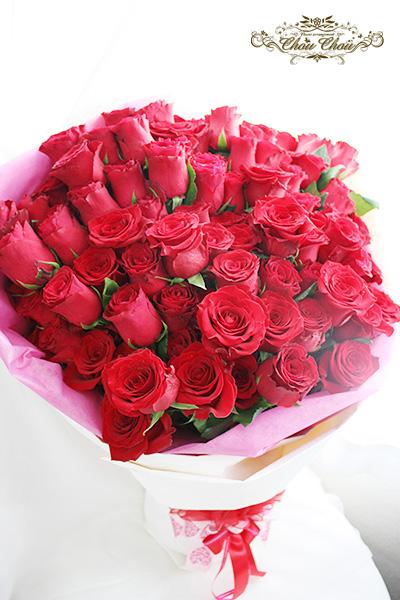 プロポーズ  108本の薔薇の花束 order no 2017116