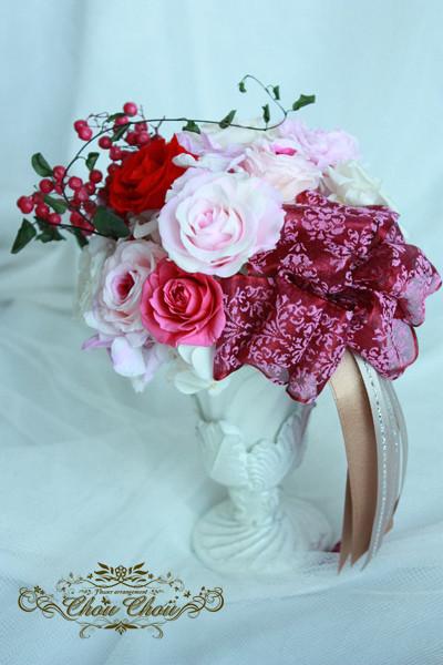プロポーズ フラワーギフト プレゼント プリザーブドフラワー アラベスク 花