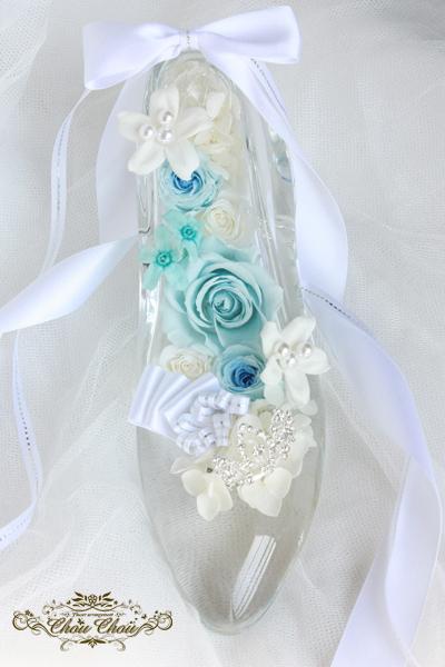 ガラスの靴 プロポーズ シンデレラ ディズニー ミラコスタ