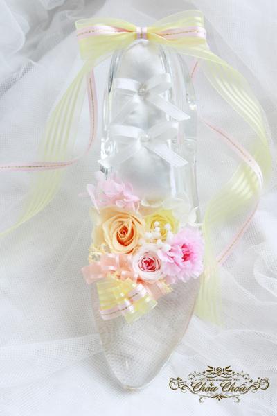 ガラスの靴 ディズニー プロポーズ リングピロー