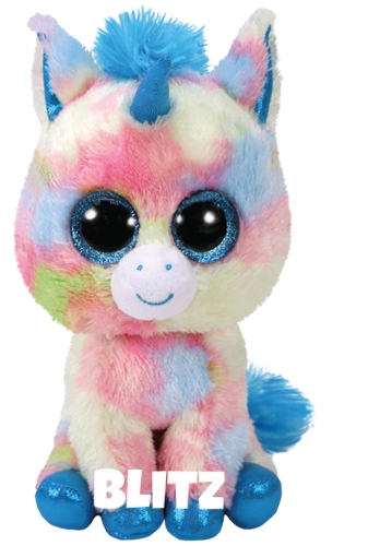 """Blitz hat am 12. Januar Geburtstag. """"Blitz is our shiny new unicorn She has great big eyes and a sparkly horn."""""""