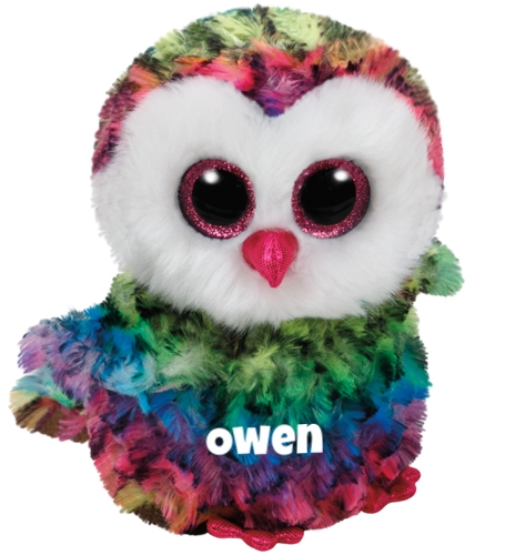 "Owen is op 12 september jarig. ""I like to fly high above the trees / And feel the crisp cool autumn breeze!"""