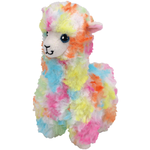 """Lola hat am 21. Juli Geburtstag. """"I'm a cute little llama all cuddly and furry Take a ride on my back if you're not in a hurry."""""""
