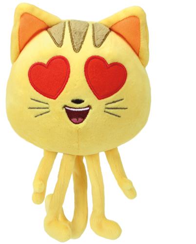 Kat met hartenoogjes, 15cm