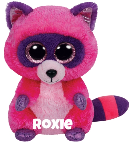 "Roxie is op 18 februari jarig. ""I scavenge for food all thru the night / But as soon as it's daylight I'll be out of sight!"""