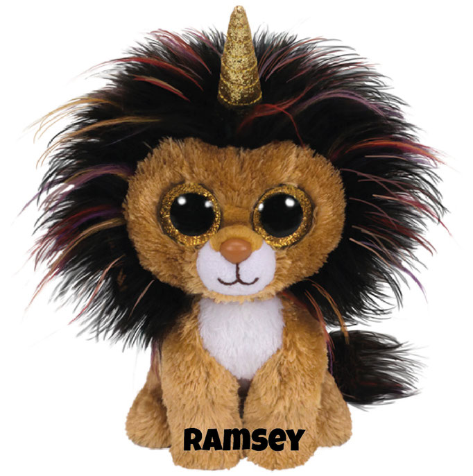 """Ramsey hat am 16. August Geburtstag.""""I was a lion when I was born Then I magically grew a horn I know that this is not the norm But now I am a unicorn!"""""""