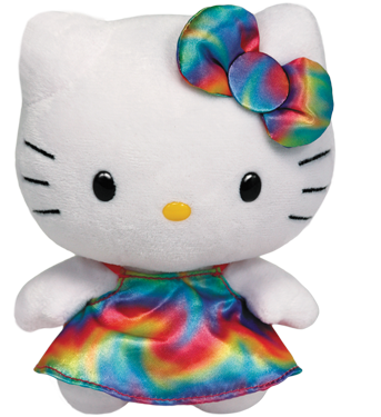 Hello Kitty Regenbogen