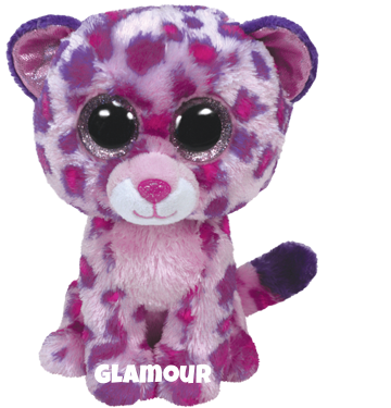 "Glamour is op 5 mei jarig. ""There are no better colors than purple and pink / They make me so pretty I surely think!"""