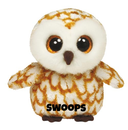"""Swoops hat am 12. September Geburtstag. """"My big eyes can see at night / So I fly around by the moonlight !"""""""