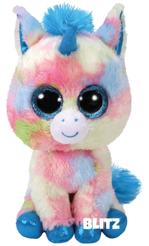 "Blitz is op 12 januari jarig. ""Blitz is our shiny new unicorn / She has great big eyes and a sparkly horn."""