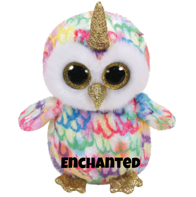 """Enchanted hat am 25. März Geburtstag.""""I was an owl when I was born Then I magically grew a horn I know that this is not the norm But now I am a unicorn!"""""""