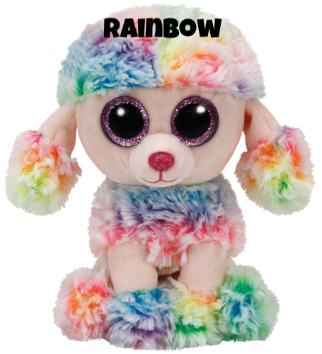 """Rainbow hat am 10. November Geburtstag. """"They call me Rainbow because of my hair / It has style and flair and it's the coolest to wear!"""""""