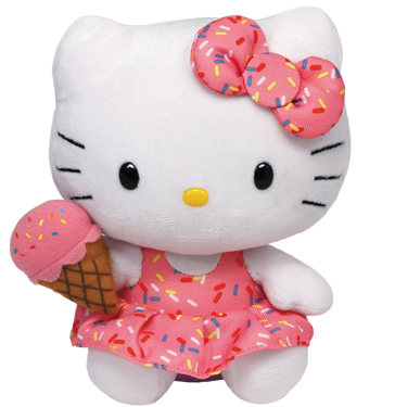 Hello Kitty Eiscreme