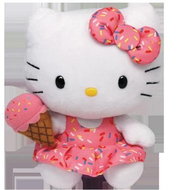 Hello Kitty Eiscreme