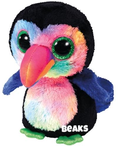 """Beaks is op 16 november jarig . """"Fruit is my favorite food to eat / I even like it more than meat!"""""""