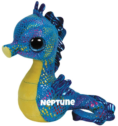 "Neptune is op 18 mei jarig. ""Will you come swim with me? Deep down under the sea!"""