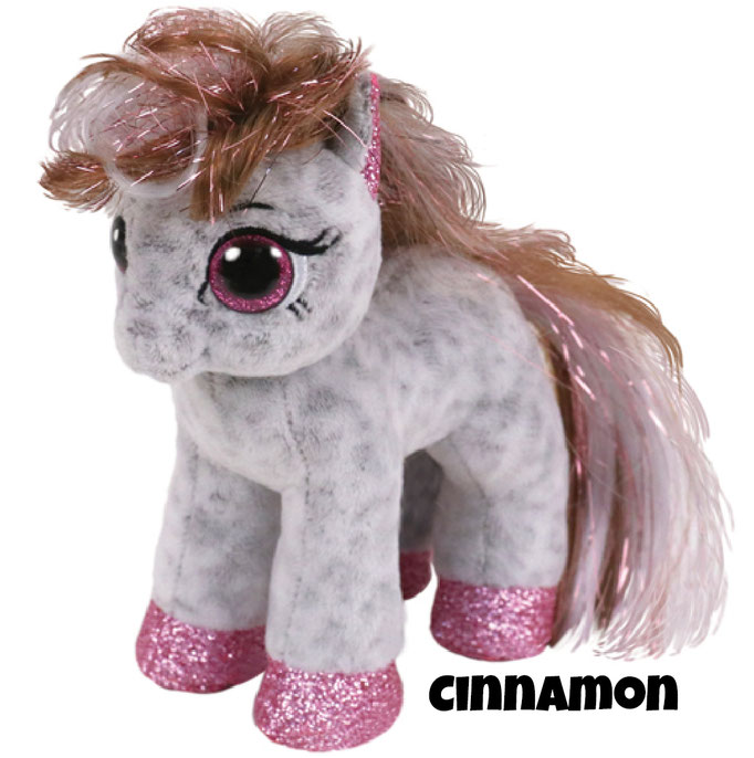 """Cinnamon hat am 8. Juni Geburtstag. """"Under the moon I'll really glow Then my glittery hooves and mane will show!"""""""