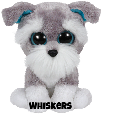 """Whiskers is op 13 maart jarig. """"I never growl, except at strangers / Or to let you know, I think there's danger!"""""""